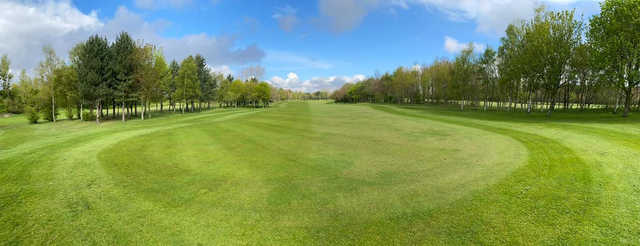 A sunny day view of a fairway at Centurion Park Golf Club.