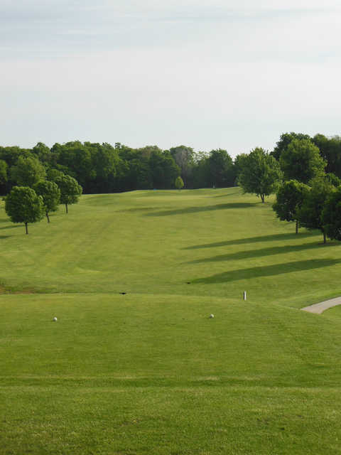 View from a tee at Mound City Golf Club.
