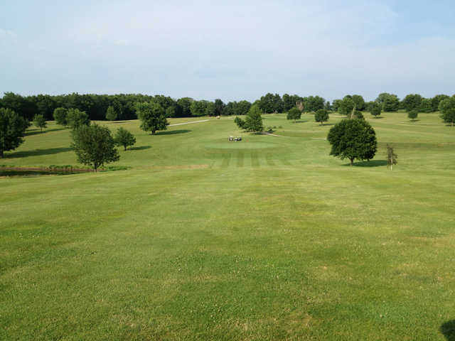 View from a fairway at Mound City Golf Club.