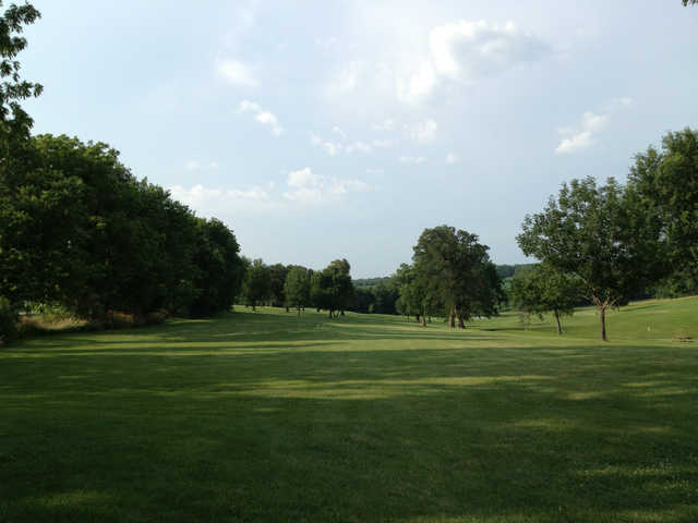 A view from Mound City Golf Club.
