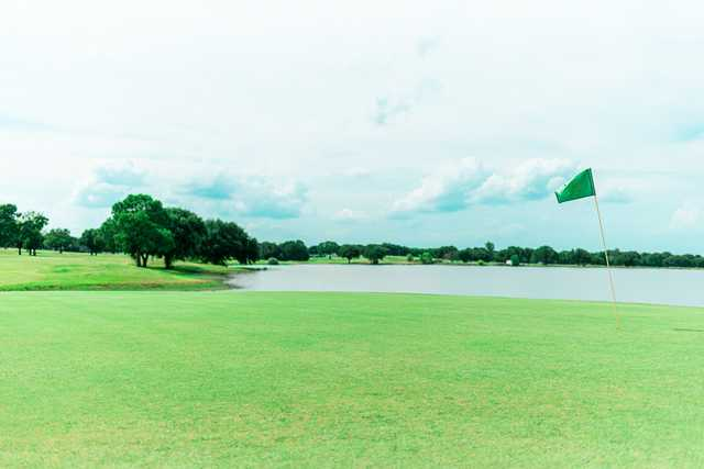 View from a green at Kings Creek Golf Club.