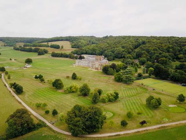 A view from Milton Abbey Golf Club.