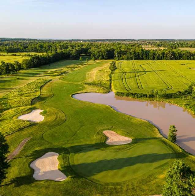 Aerial view from Niagara National Golf & Country Club.