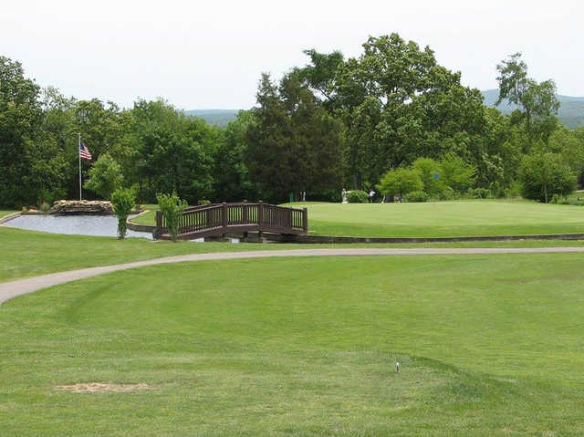 A view of hole #11 at Skyview Course from Terre Du Lac Golf & Country Club.