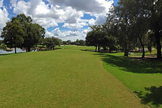 View from a fairway at GlenLakes Country Club.