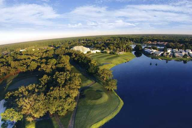 Aerial view from GlenLakes Country Club.