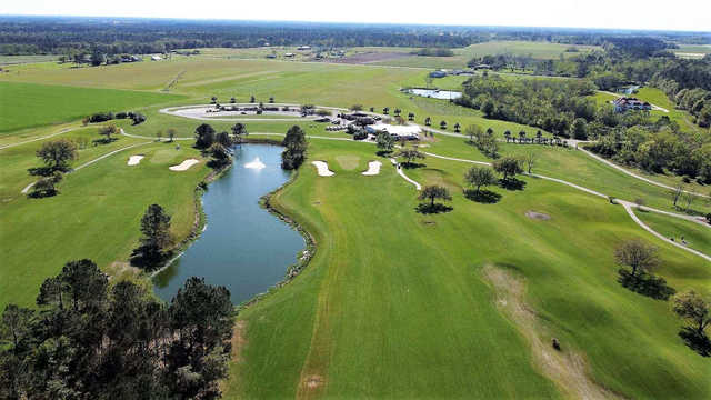 Aerial view from Soldiers Creek Golf Club.