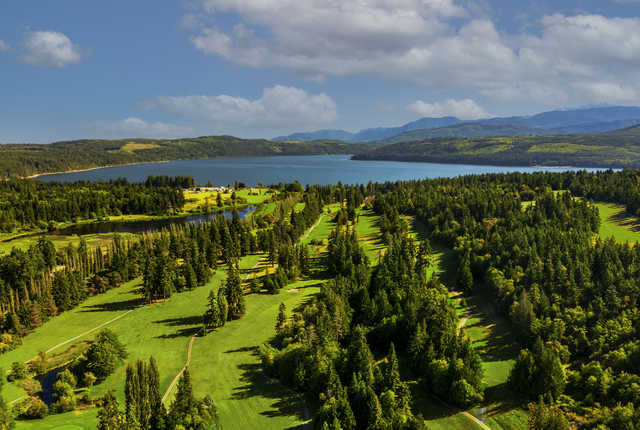 Aerial view from Discovery Bay Golf Club.