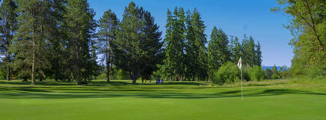 View from a green at Discovery Bay Golf Club.