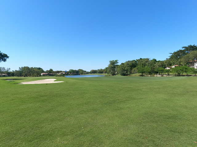 A view from Boca Lago Country Club.