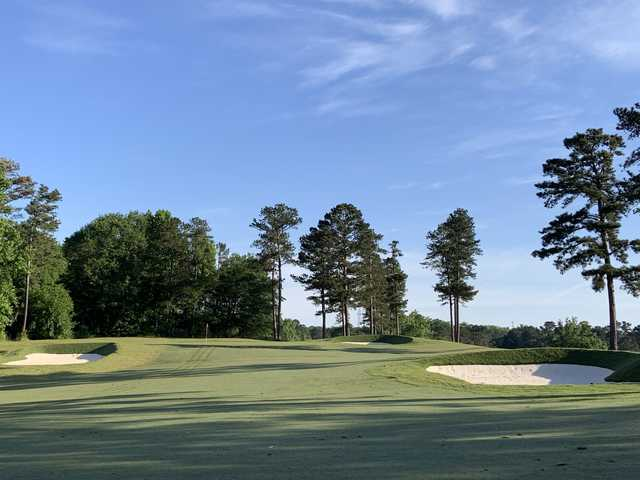 View of the 7th green at West Pines Golf Club.