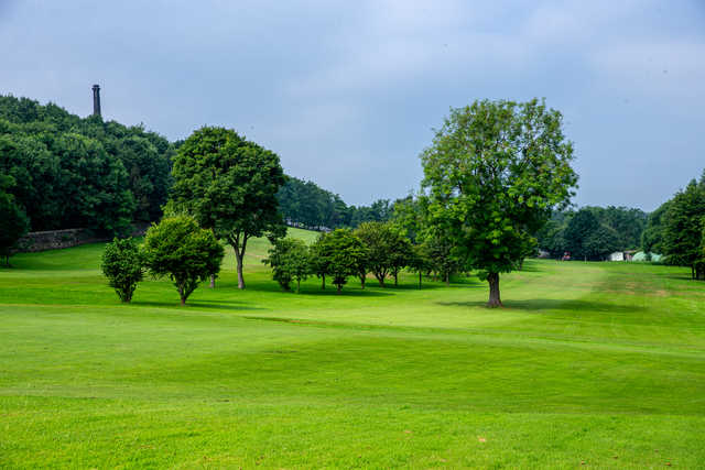 A view from Clayton Golf Club.