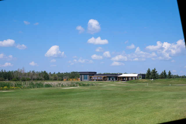 View of the clubhouse at Cattail Crossing Golf & Winter Club.