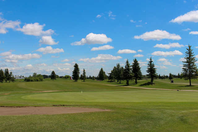 View of a green at Cattail Crossing Golf & Winter Club.