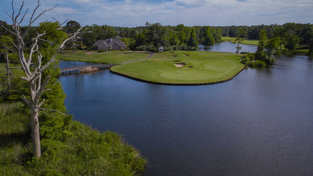 View or the 13th green at The Heritage Club.