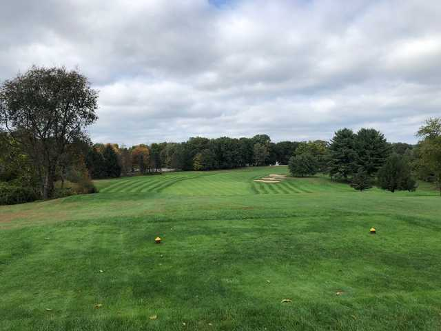 View from the 1st tee at Maynard Golf Course.