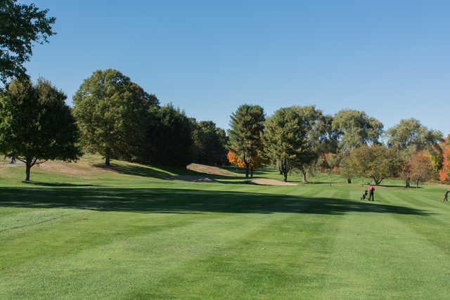 View from the 5th fairway at Maynard Golf Course.