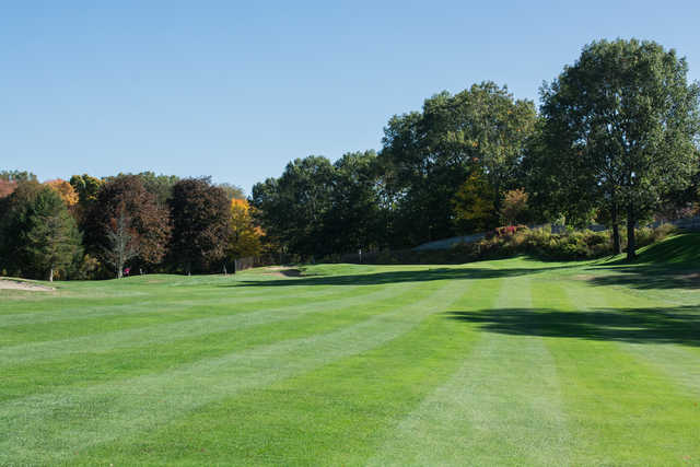 View from the 4th fairway at Maynard Golf Course.