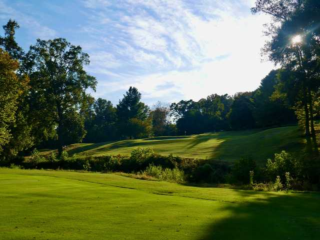 A view from Cleveland Country Club.