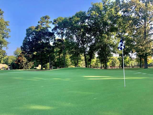 View from a green at Cleveland Country Club.