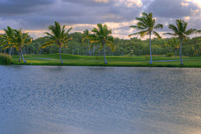 A view from The Lakes Barcelo Golf Course.