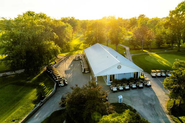 View of the clubhouse at Port Colborne Golf and Country Club.