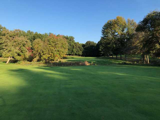 View of the 7th green at Chelmsford Country Club.