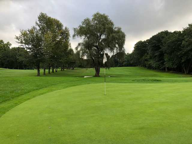 View from a green at Chelmsford Country Club