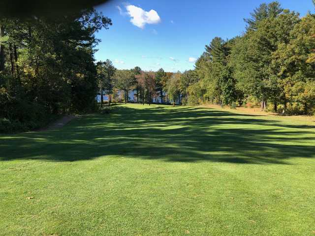 View from the 4th tee at Crystal Lake Golf Club.