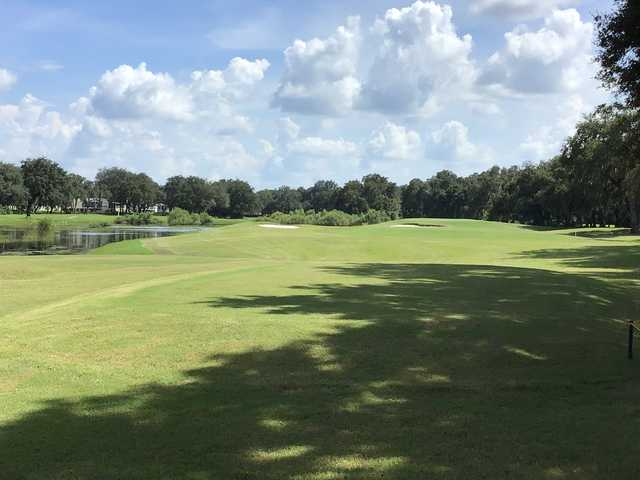 A view from Southport Springs Golf & Country Club.