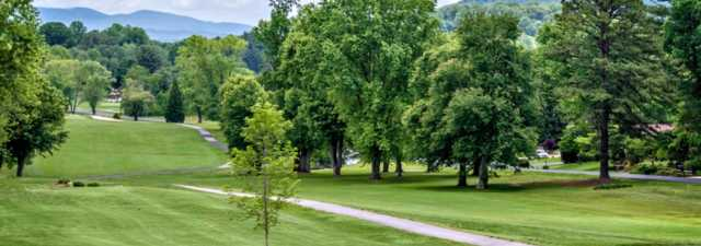 A view from Etowah Valley Country Club & Golf Lodge.