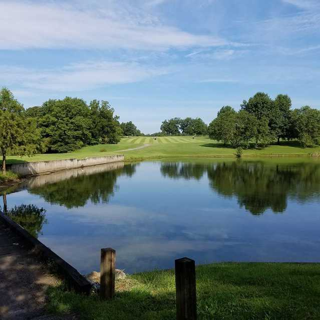 A view from Country Lake Golf Club.
