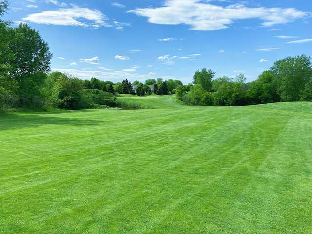View from a fairway at Arbor Pointe Golf Club.