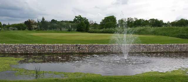 A view of a green at Maldon Golf Club.