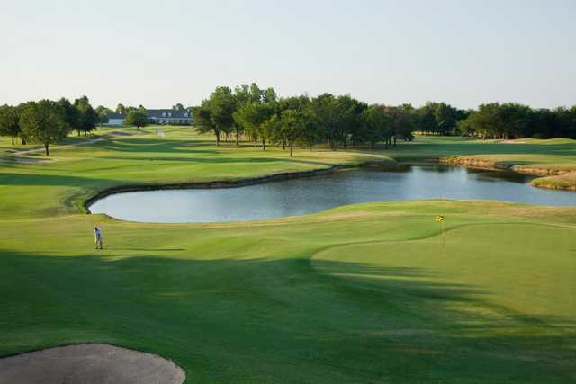 A view from Forest Ridge Golf Club