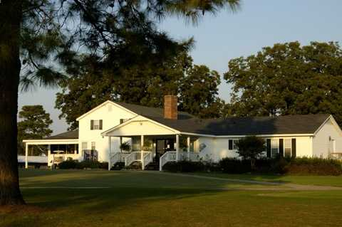 A view of the clubhouse at Reedy Creek Golf Course