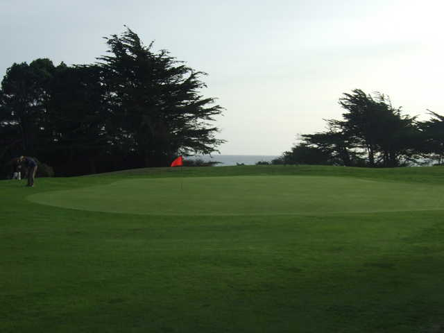 A view of the 7th green from Sea Ranch Golf Links