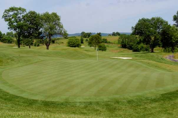 A view of the 15th hole at Maryland National Golf Club