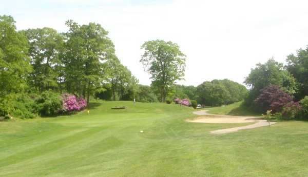 A view from Winnapaug Golf Course