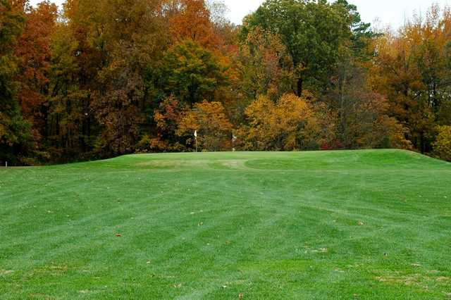 A view of the 7th hole at Westwood Golf Course