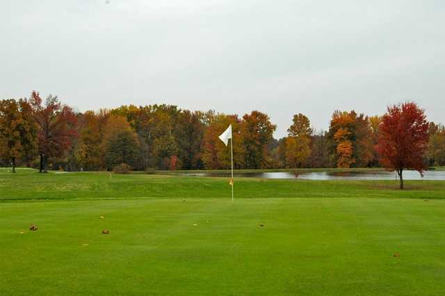 A view of the 4th green at Westwood Golf Course