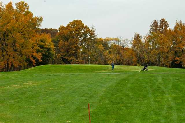 A view of hole #5 at Westwood Golf Course