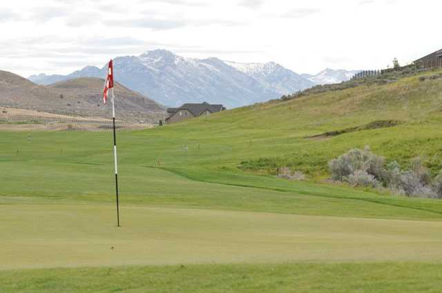 A view of a hole at The Ranches Golf Club