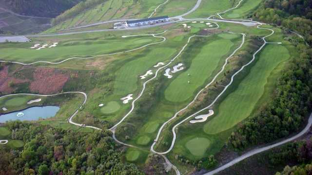 Aerial view of StoneCrest Golf Course