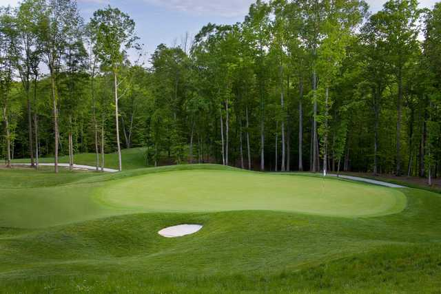 A view of the 4th green at Colonial Heritage Club