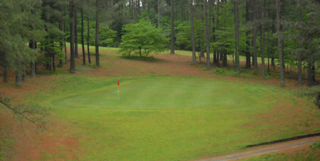 A view of hole #6 at Stonewall Golf Course