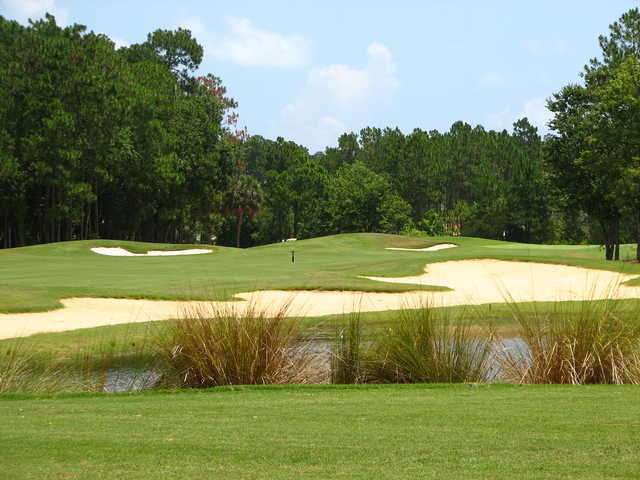 Cypress Knoll Golf & Country Club features tough bunkering