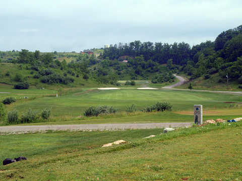 A view of hole #17 at Raven Rock Golf Course