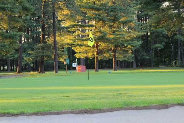 A view of the 8th green at East Mountain Country Club