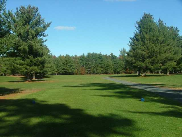A view from the 6th tee at East Mountain Country Club